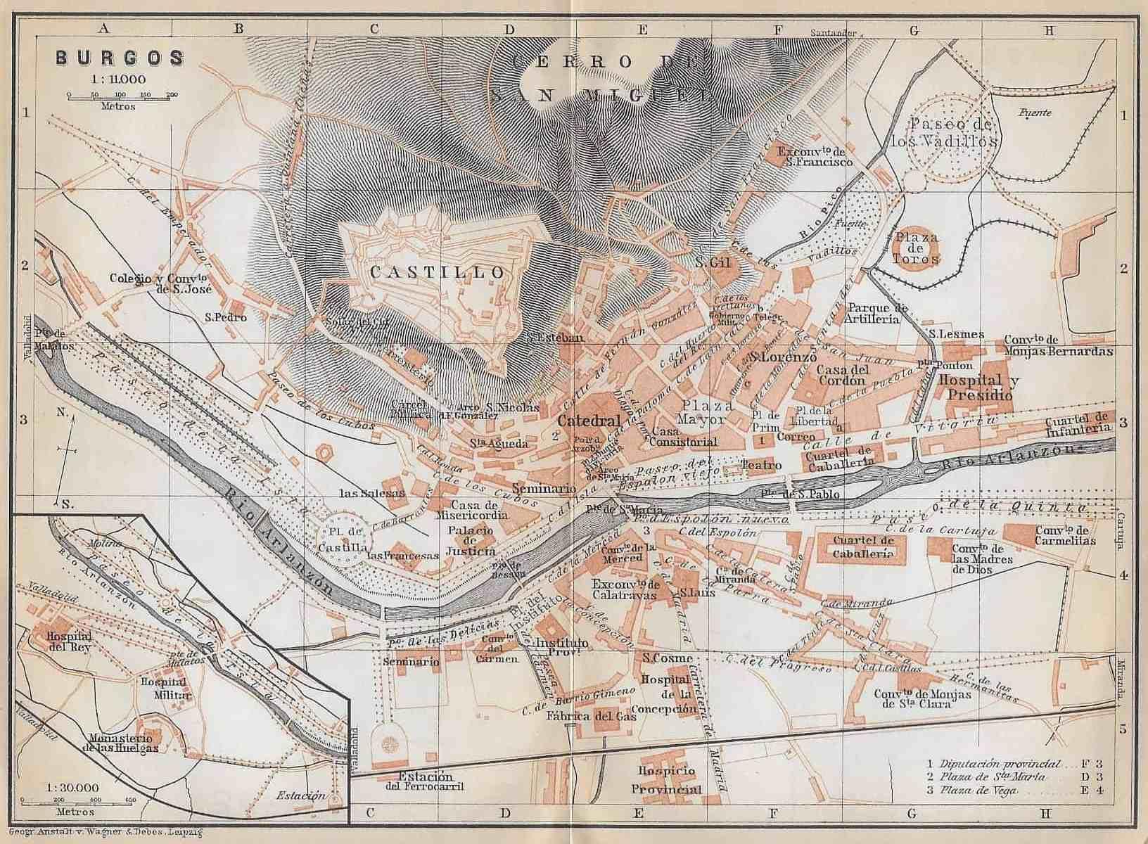 Burgos Spain 1914