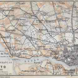 Porto region Portugal 1914