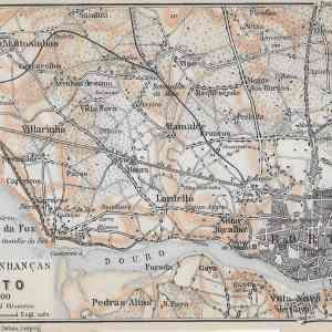 #3416 Porto (surroundings), Portugal 1914
