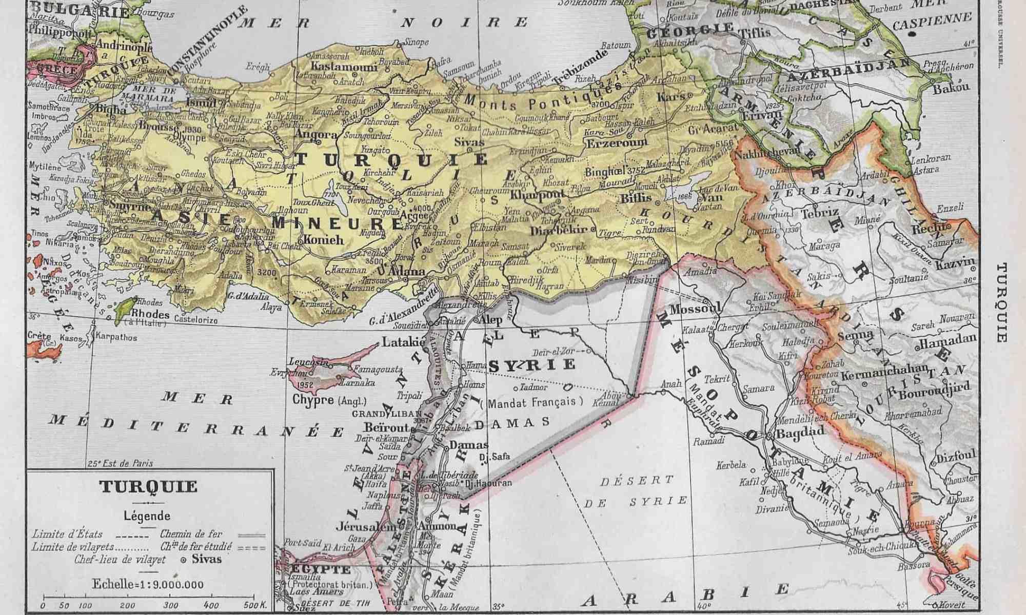 #2933 Turkey 1922