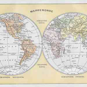 #2934 World Hemispheres, 1922