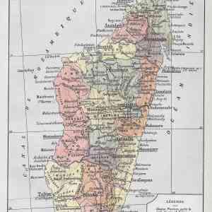 #2944 Madagascar, 1922