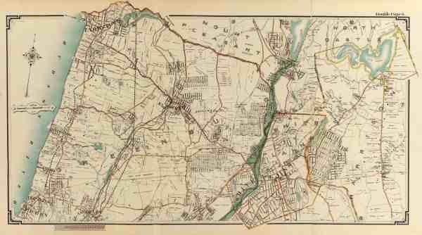 #2901 Irvington Dobbs Ferry Tarrytown 1908