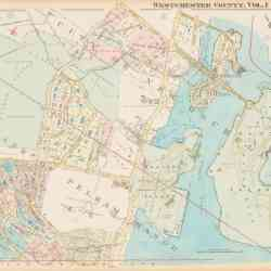 #4226 Village of Pelham Manor City of New Rochelle 1929