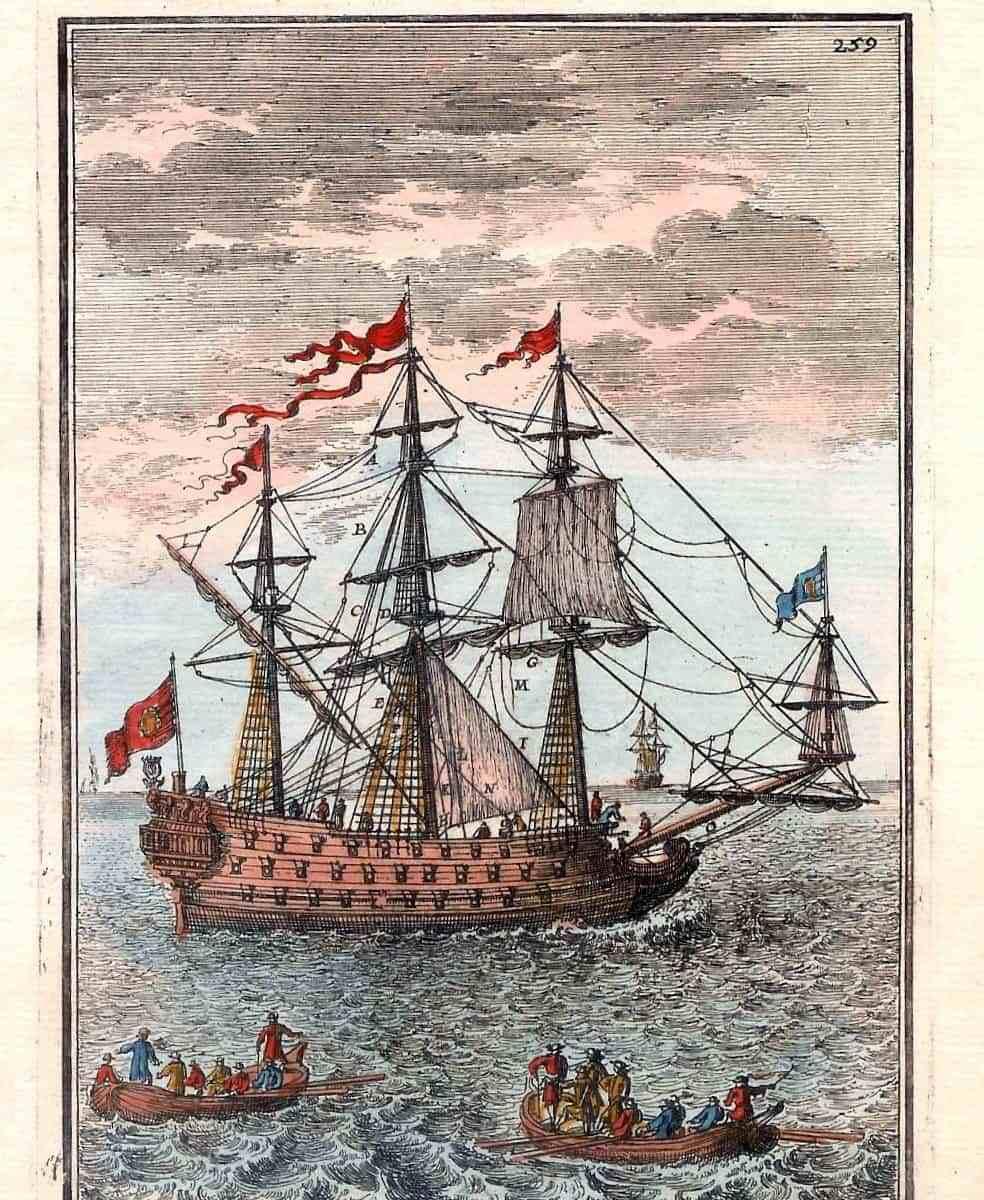 #260 ship mallet 1683