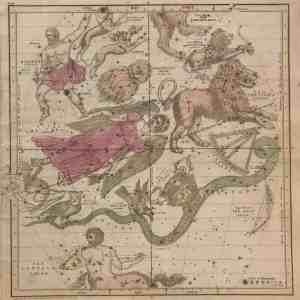 """#2989 """"Visible Heavens"""" April, May & June, 1835"""