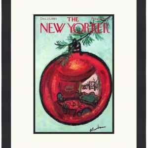 Original New Yorker Cover December 23, 1961