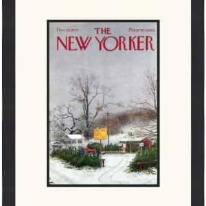Original New Yorker Cover December 19, 1970