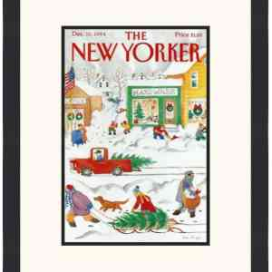 Original New Yorker Cover December 10, 1984