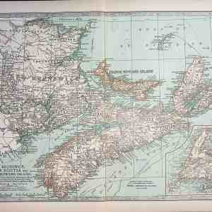#4556 New Brunswick, Nova Scotia & Prince Edward Island, 1903