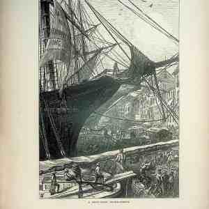 #4968 A New York Riverfront, 1874