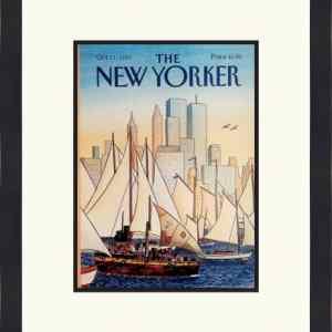Original New Yorker Cover October 11, 1993