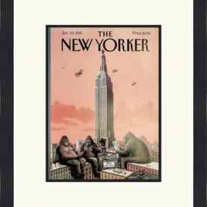 Original New Yorker Cover January 23, 1995