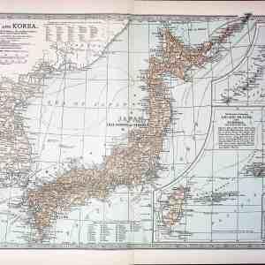#4366 Japan and Korea, 1903