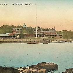 #5314 Larchmont Yacht Club 1921