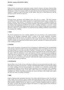 PESTEL Analysis of BASTION CHINA