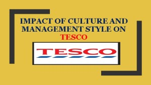 Management Style on Tesco