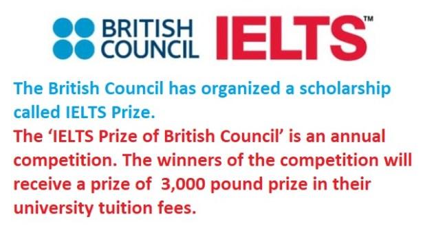 IELTS Prize of British Council