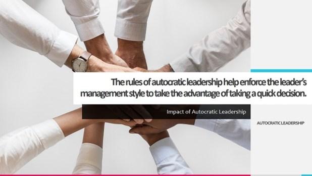 Impact of Autocratic Leadership