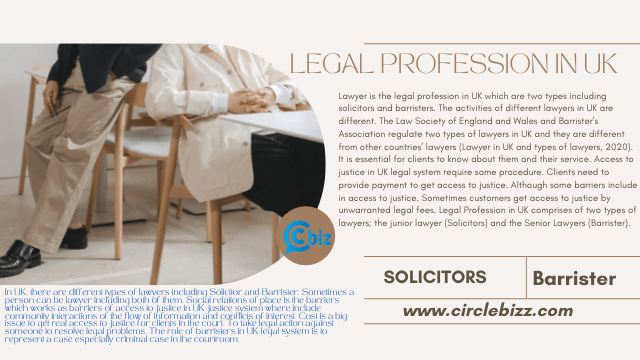 Legal Profession in UK