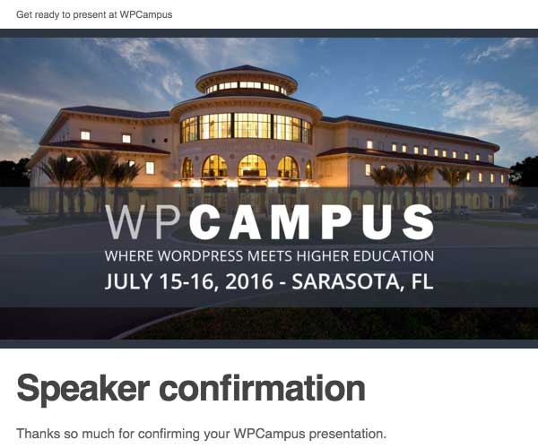 wpcampus-speaker-confirmation