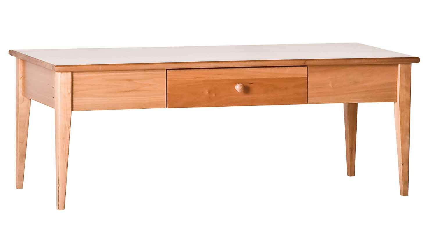 Shaker One Drawer Cocktail Table