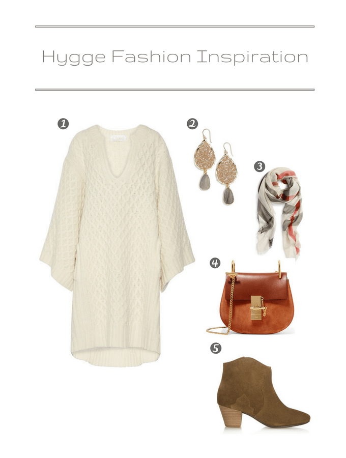 Hygge Fashion Inspiration - A hygge-inspired outfit for a dinner party that was all about hyggelig. A perfect way to get into the mood for the occasion.