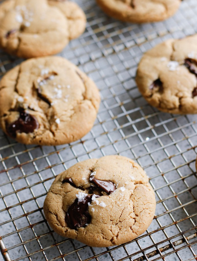 Salted Chocolate Chip Cookies-6