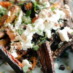 Roasted Carrots with Feta, Walnuts and Dill-1