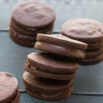 Ottolenghi Chocolate Cookies and Spiced Chocolate Ganache | circleofeaters.com