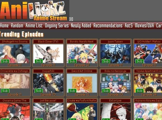 Anilinkz – Best 11 Alternatives for Better Anime Streaming Experience