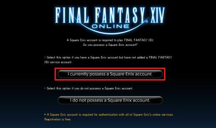 Reinstalling Final Fantasy XIV