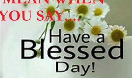 Blessed-day-meaning