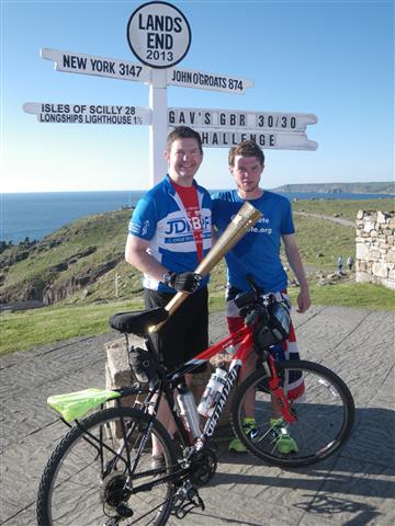 Gavin and me at Land's End