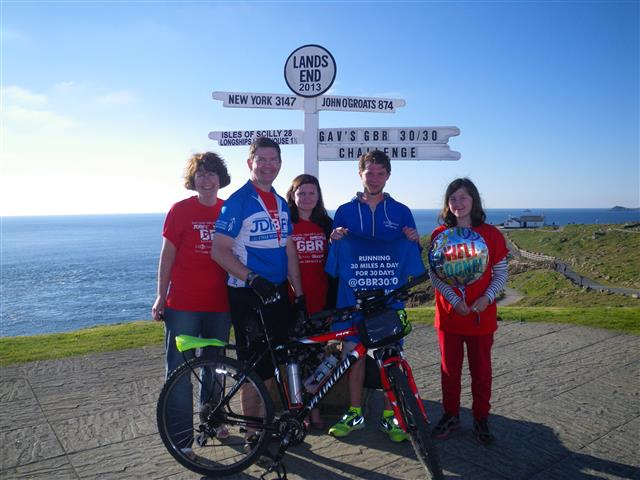 Us with Gavin Griffiths (@diathlete)
