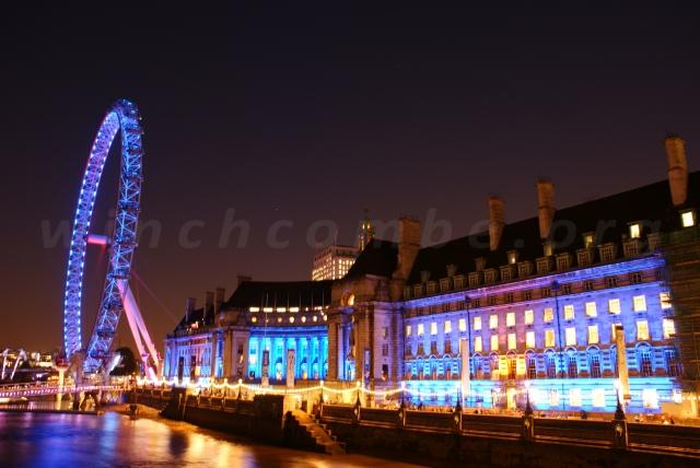London Eye and County Hall 1