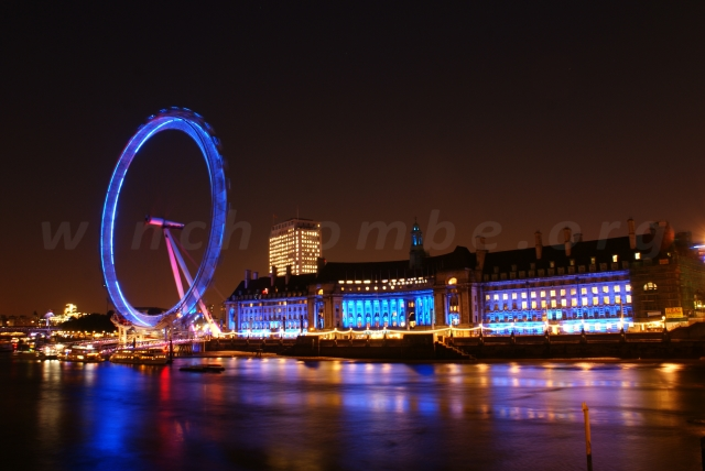 London Eye and County Hall 2