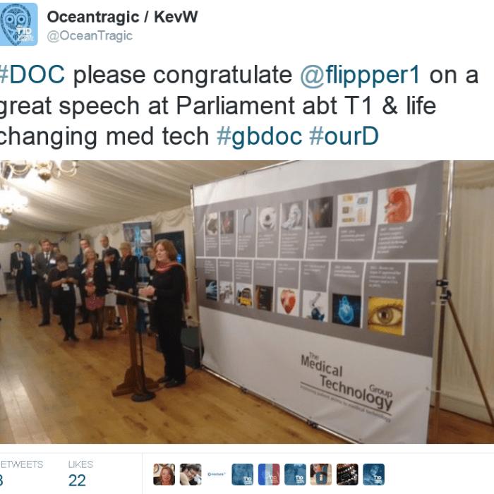 Philippa speaks at Parliament