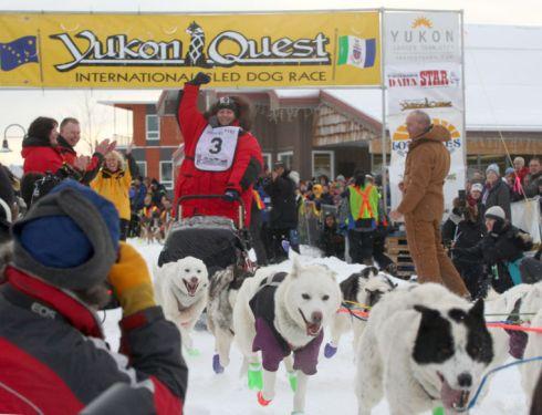 2013 Yukon Quest Start
