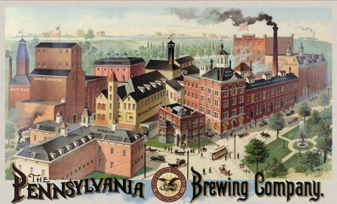 Penn Brewery. Pure. Pittsburgh.