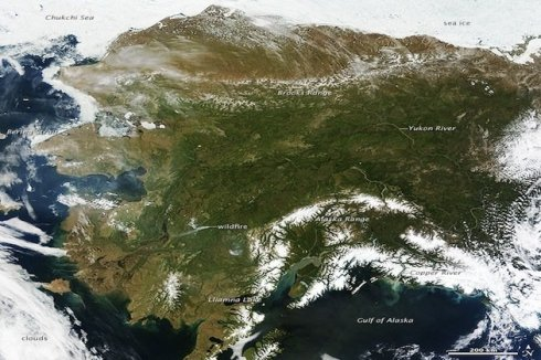 Alaska from Space