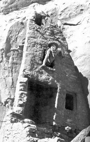 Ruess at Mesa Verde