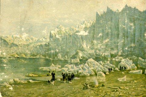 Muir Glacier by Thomas Hill