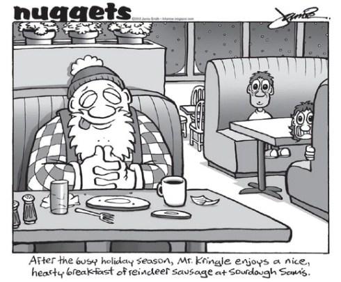 Nuggets at Sam's after X-mas