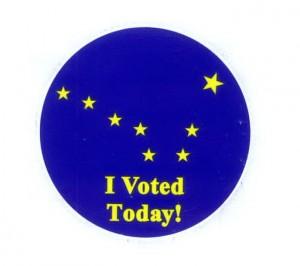 Alaska I Voted