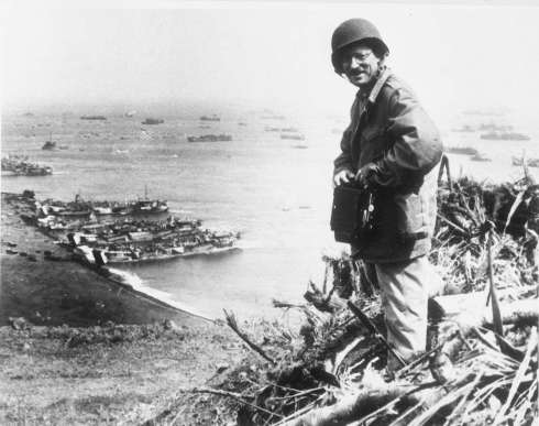 Joe Rosenthal on Iwo Jima