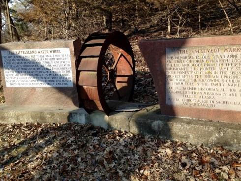 Pioneer water wheel