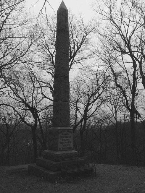 Joseph Brown monument