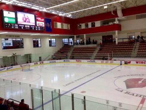 Inside LaBan Arena