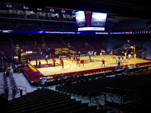 Warmups at The Barn